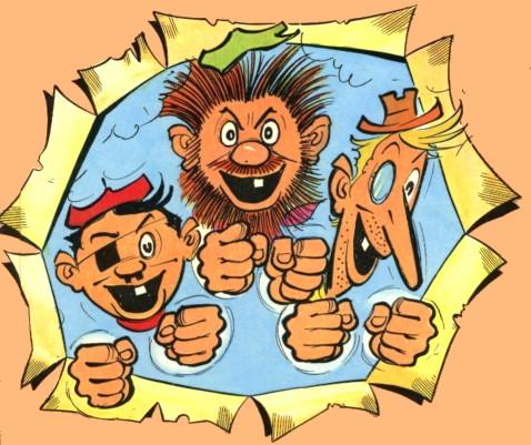 Avec Croquignol et Ribouldingue, quel est le troisième larron de la bande des Pieds Nickelés ?